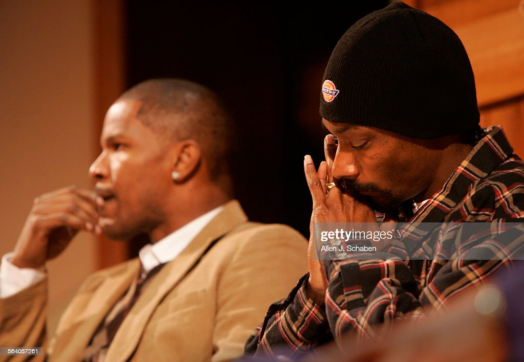 Stanley Tookie Williams And Snoop Dogg