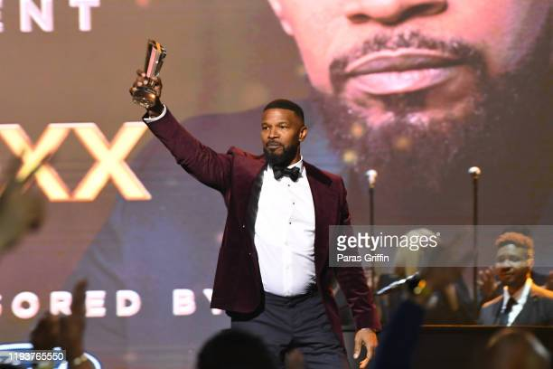 Actor Jamie Foxx onstage during 2019 Urban One Honors at MGM National Harbor on December 05 2019 in Oxon Hill Maryland