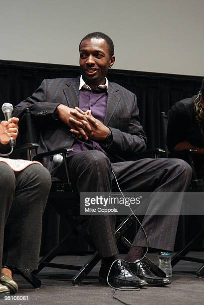 """Actor Jamie Hector attends the Film Society of Lincoln Center's """"Night Catches Us"""" at Walter Reade Theater on March 28, 2010 in New York City."""