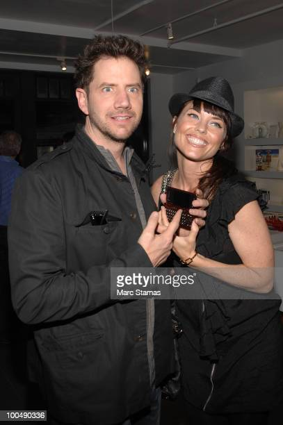Actor Jamie Kennedy and Actress Donnamarie Recco attend a screening of Finding Bliss at the Museum of Sex on May 24 2010 in New York City