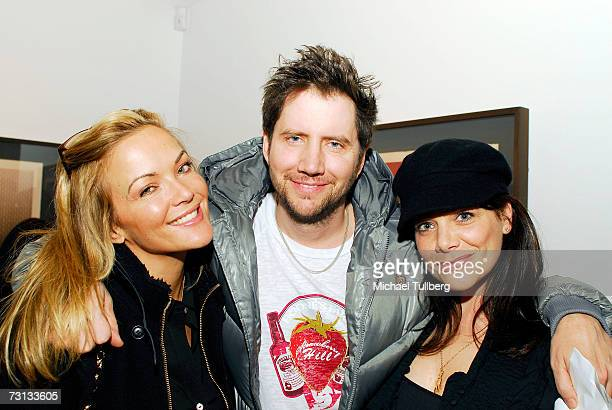 Actor Jamie Kennedy and guests attend the opening of the Chris Anthony art show Victims Avengers held at the Corey Helford Gallery on January 27 2007...