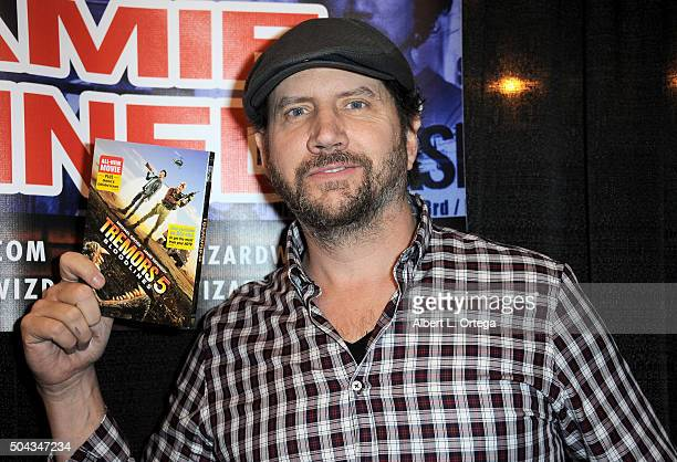 Actor Jamie Kennedy on day 2 of Wizard World Comic Con New Orleans held at New Orleans Morial Convention Center on January 9 2016 in New Orleans...