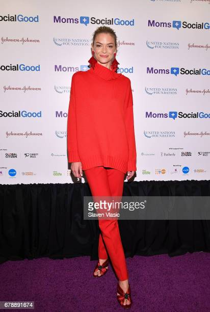 Actor Jamie King attends 5th Annual Moms SocialGood event at AXA Event Production Center on May 4 2017 in New York City