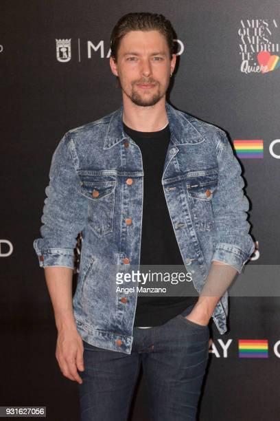 Actor Jan Cornet attends 'The Best Day Of My Life' Madrid premiere at Callao cinema on March 13 2018 in Madrid Spain
