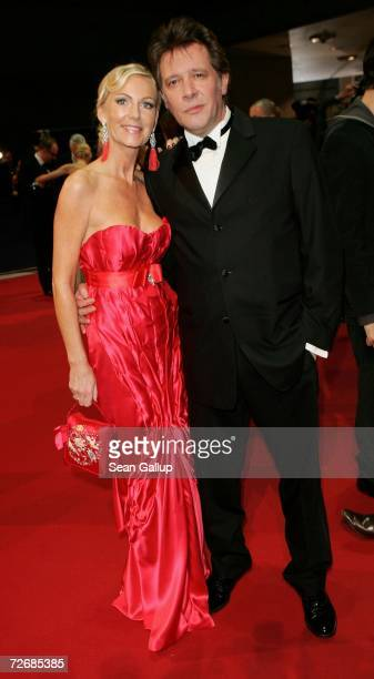 Actor Jan Fedder and his wife Marion attend the 58th annual Bambi Awards at the MercedesBenz Museum on November 30 2006 in Stuttgart Germany Bambi is...