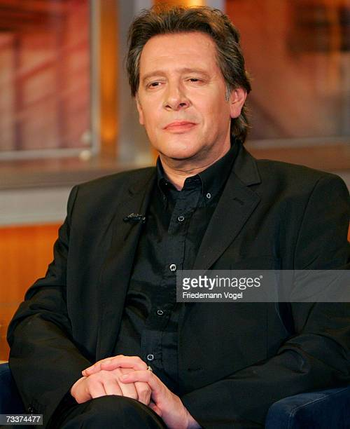 Actor Jan Fedder attends the Johannes BKerner TV Show on February 20 2007 in Hamburg Germany