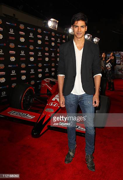 Actor Jan Uddin attends an IZOD party to celebrate the 100th Anniversary Indianapolis 500 at The Colony on April 13 2011 in Los Angeles California...