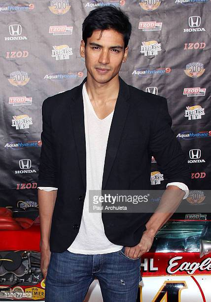 Actor Jan Uddin attends the 100th anniversary of the Indianapolis 500 at The Colony on April 13 2011 in Los Angeles California