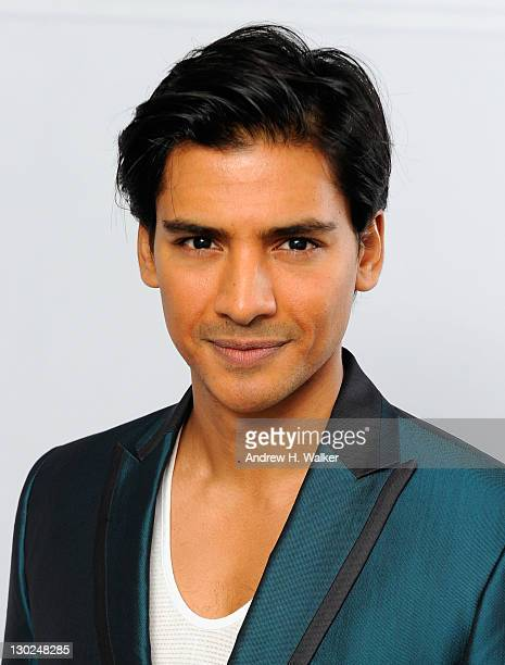 Actor Jan Uddin poses for a portrait in the portrait studio at Katara Cultural Village during the 2011 Doha Tribeca Film Festival on October 25 2011...