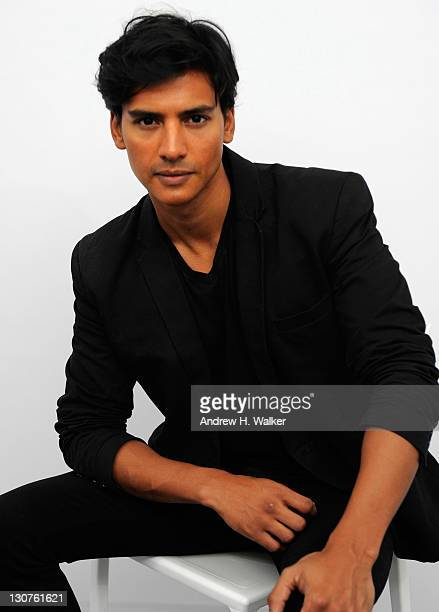 Actor Jan Uddin poses for a portrait in the portrait studio at Katara Cultural Village during the 2011 Doha Tribeca Film Festival on October 29 2011...