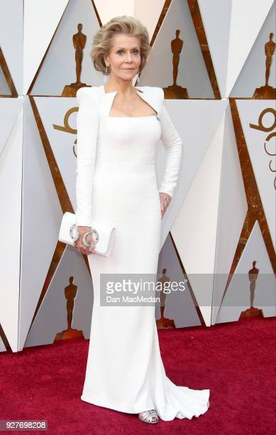 Actor Jane Fonda attends the 90th Annual Academy Awards at Hollywood Highland Center on March 4 2018 in Hollywood California