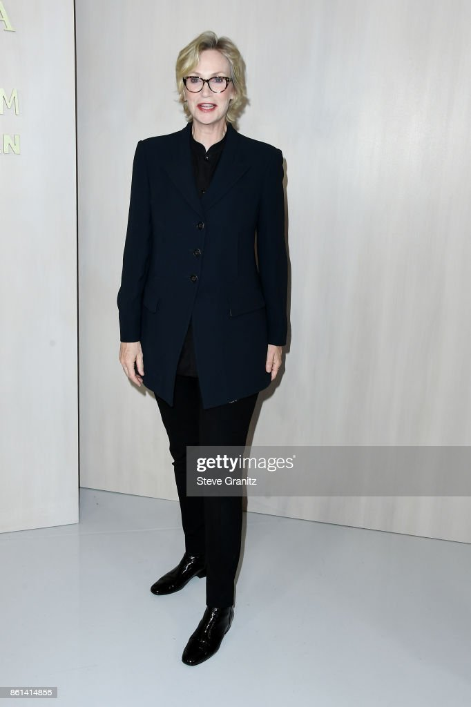 Actor Jane Lynch at Bottega Veneta Hosts Hammer Museum Gala In The Garden on October 14, 2017 in Westwood, California.