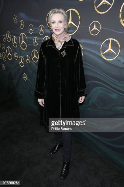 Actor Jane Lynch attends MercedesBenz USA Official Awards Viewing Party at Four Seasons Beverly Hills CA on March 4 2018 in Los Angeles California