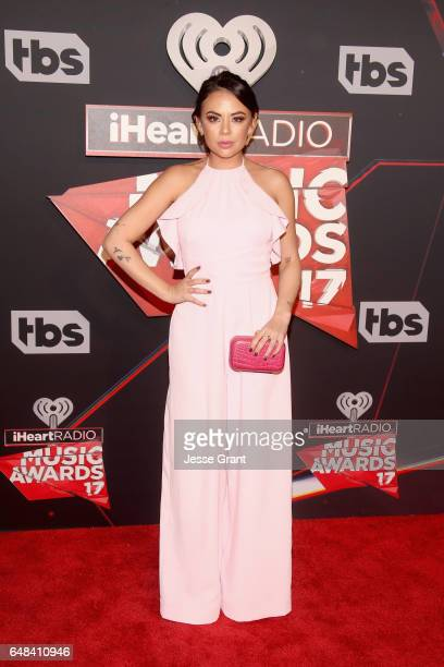 Actor Janel Parrish attends the 2017 iHeartRadio Music Awards which broadcast live on Turner's TBS, TNT, and truTV at The Forum on March 5, 2017 in...