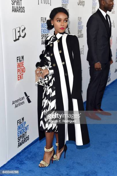 Actor Janelle Monae attends the 2017 Film Independent Spirit Awards at the Santa Monica Pier on February 25 2017 in Santa Monica California