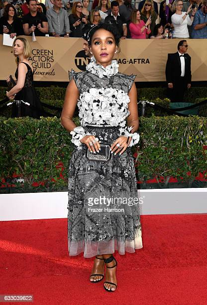 Actor Janelle Monae attends The 23rd Annual Screen Actors Guild Awards at The Shrine Auditorium on January 29 2017 in Los Angeles California 26592_008