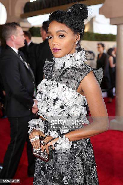 Actor Janelle Monae attends the 23rd Annual Screen Actors Guild Awards at The Shrine Expo Hall on January 29 2017 in Los Angeles California