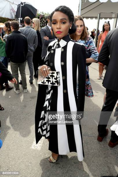 Actor Janelle Monae attends the 32nd Annual Film Independent Spirit Awards sponsored by FIJI Water at Santa Monica Pier on February 25 2017 in Santa...