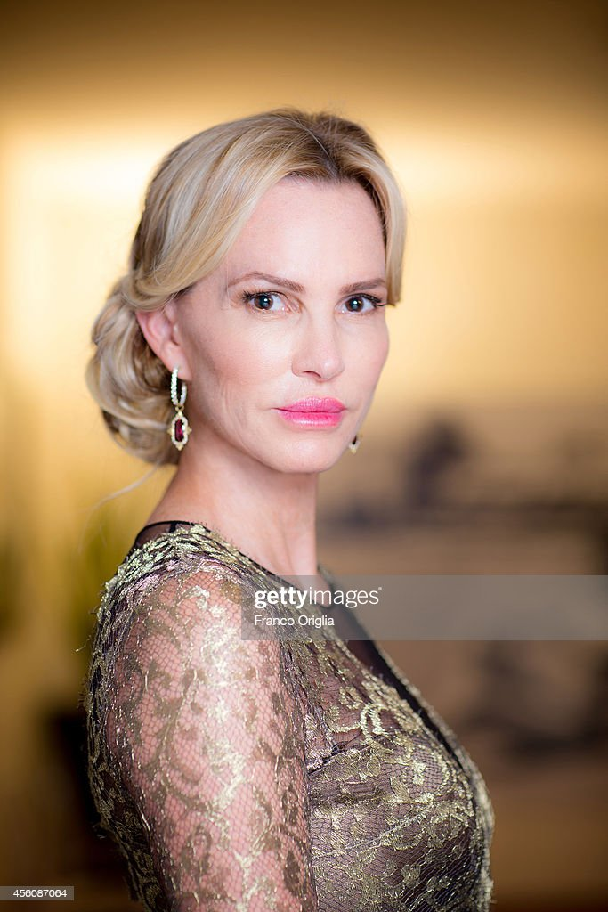Actor Janet Jones is photographed on September 5, 2014 in Venice, Italy.