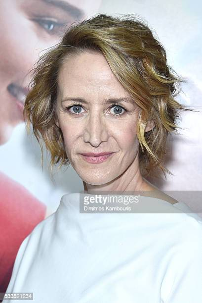 Actor Janet McTeer attends Me Before You World Premiere at AMC Loews Lincoln Square 13 theater on May 23 2016 in New York City