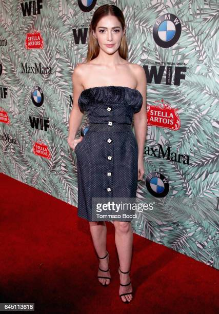 Actor Janet Montgomery attends the tenth annual Women in Film PreOscar Cocktail Party presented by Max Mara and BMW at Nightingale Plaza on February...