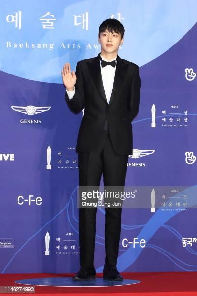 Actor Jang Gi-yong attends the 55th Baeksang Arts Awards at COEX D Hall on May 01, 2019 in Seoul, South Korea.