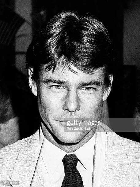 Actor JanMichael Vincent attends ABC TV Affiliates Party on May 11 1984 at the Beverly Wilshire Hotel in Beverly Hills California