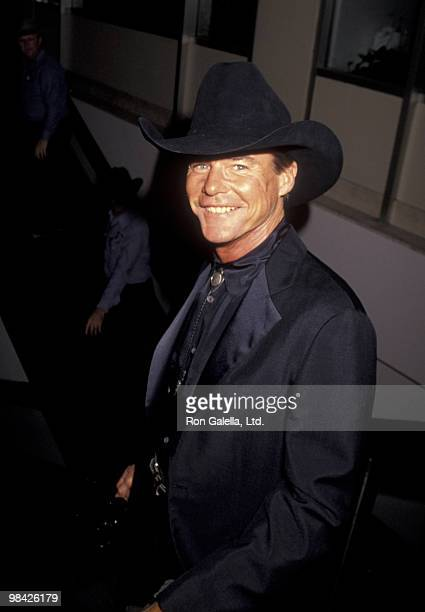 Actor JanMichael Vincent attends Golden Boot Awards on August 21 1993 at the Century Plaza Hotel in Century City California