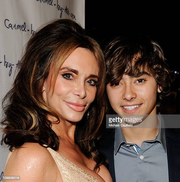 Actor Jansen Panettiere and mother/actress Lesley Vogel attend the CarmelByTheSea Los Angeles Premiere at ArcLight Cinemas on March 9 2011 in...