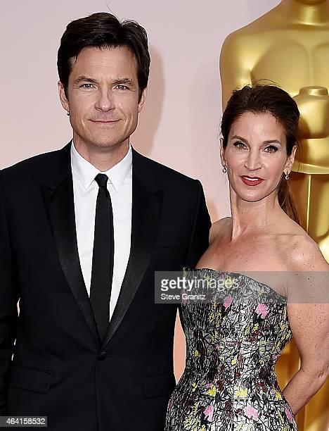 Actor Jaosn Bateman and Amanda Anka attend the 87th Annual Academy Awards at Hollywood Highland Center on February 22 2015 in Hollywood California