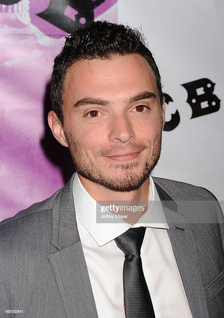 Actor Jared Carter arrives at the 'CBGB' Special Screening at ArcLight Cinemas on October 1, 2013 in Hollywood, California.