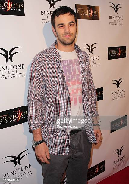 Actor Jared Cohn attends the premiere PERNICIOUS at Arena Cinema Hollywood on June 19 2015 in Hollywood California