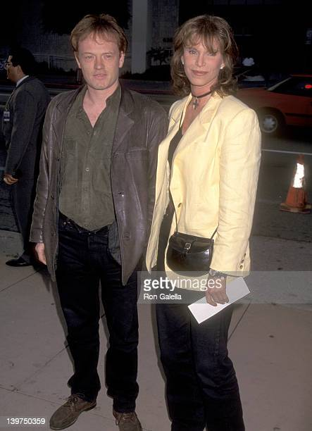 Actor Jared Harris and Actress Ann Turkel attend the I Shot Andy Warhol Hollywood Premiere on May 16 1996 at Pacific's Cinerama Dome in Hollywood...