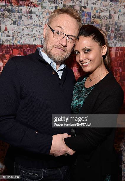 Actor Jared Harris and Allegra Riggio attend the BAFTA Los Angeles Tea Party at The Four Seasons Hotel Los Angeles At Beverly Hills on January 10...