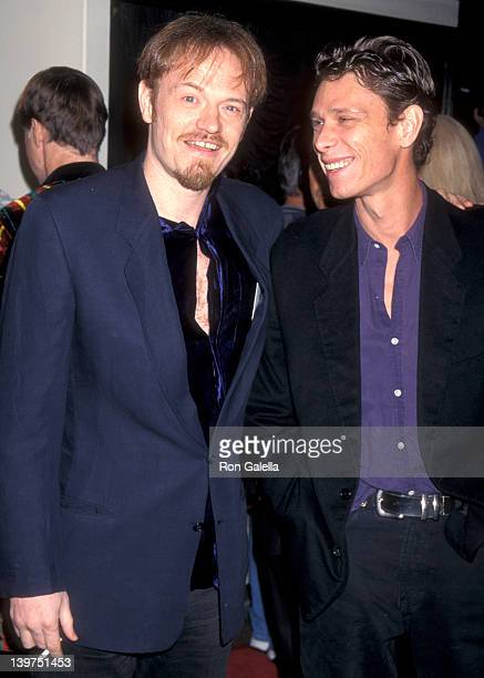 """Actor Jared Harris and brother Actor Jamie Harris attend the """"Good Will Hunting"""" Westwood Premiere on December 2, 1997 at Mann Bruin Theatre in..."""