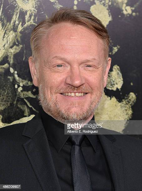 Actor Jared Harris arrives to the Los Angeles Premiere of Lionsgate Films' The Quiet Ones at The Theatre At Ace Hotel on April 22 2014 in Los Angeles...