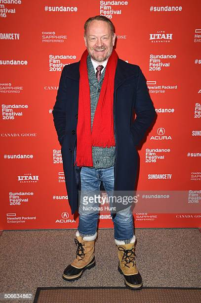 Actor Jared Harris attends the 'Certain Women' Premiere during the 2016 Sundance Film Festival at Eccles Center Theatre on January 24 2016 in Park...