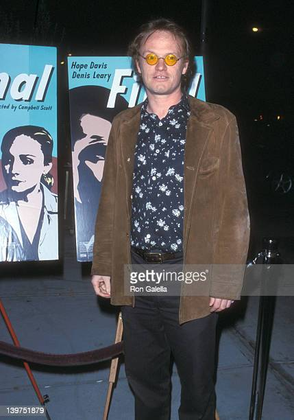 Actor Jared Harris attends the Final New York City Premiere on December 5 2001 at The Screening Room in New York City New York