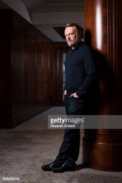Actor Jared Harris poses for a portrait during the 68th Berlin International Film Festival on February 2018 in Berlin Germany