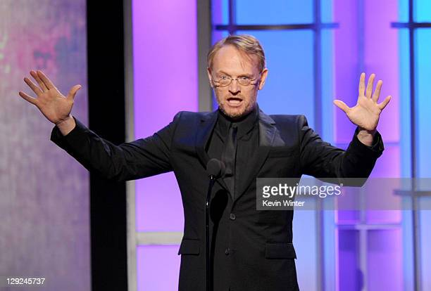 Actor Jared Harris speaks onstage during The 25th American Cinematheque Award Honoring Robert Downey Jr held at The Beverly Hilton hotel on October...