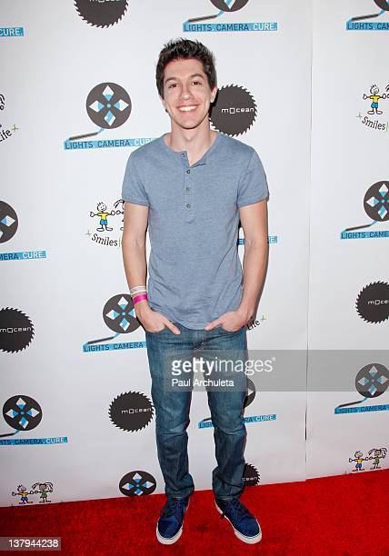 Actor Jared Kusnitz attends the Lights Camera Cure 2012 Hollywood DanceAThon at Avalon on January 29 2012 in Hollywood California