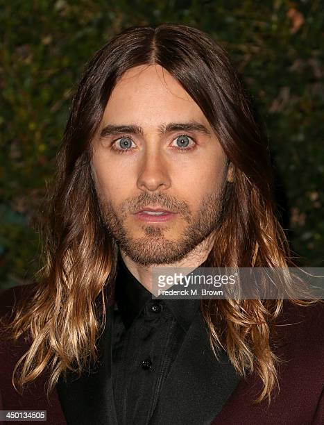 Actor Jared Leto arrives at the Academy of Motion Picture Arts and Sciences' Governors Awards at The Ray Dolby Ballroom at Hollywood Highland Center...