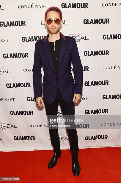 Actor Jared Leto attends 2015 Glamour Women Of The Year Awards at Carnegie Hall on November 9 2015 in New York City