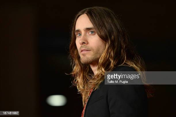 Actor Jared Leto attends 'Dallas Buyers Club' Premiere And Vanity Fair Award during The 8th Rome Film Festival at Auditorium Parco Della Musica on...