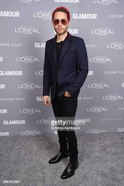 Actor Jared Leto attends the 2015 Glamour Women Of The Year Awards at Carnegie Hall on November 9 2015 in New York City
