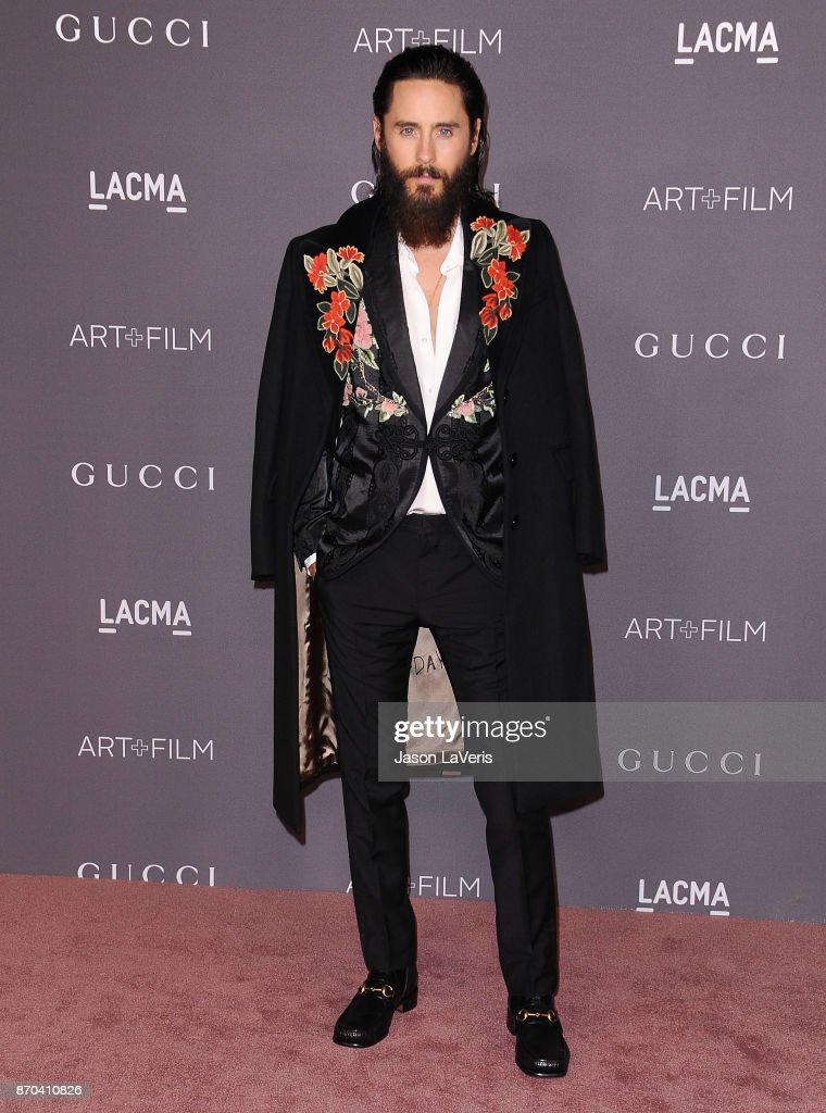 Actor Jared Leto attends the 2017 LACMA Art + Film gala at LACMA on November 4, 2017 in Los Angeles, California.