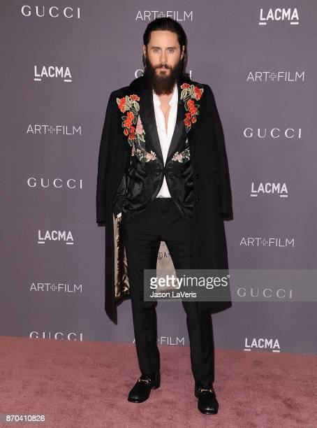 Actor Jared Leto attends the 2017 LACMA Art Film gala at LACMA on November 4 2017 in Los Angeles California