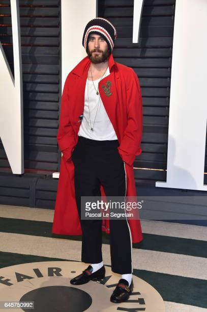 Actor Jared Leto attends the 2017 Vanity Fair Oscar Party hosted by Graydon Carter at Wallis Annenberg Center for the Performing Arts on February 26...