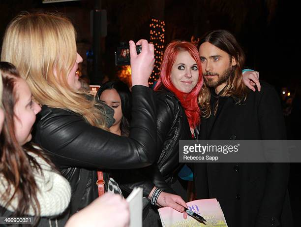 Actor Jared Leto attends the 29th Santa Barbara International Film Festival Virtuosos Award to Daniel Bruhl Michael B Jordan Brie Larson Jared Leto...