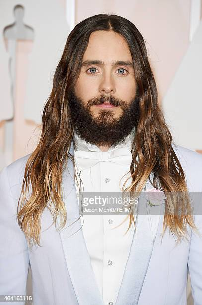 Actor Jared Leto attends the 87th Annual Academy Awards at Hollywood & Highland Center on February 22, 2015 in Hollywood, California.